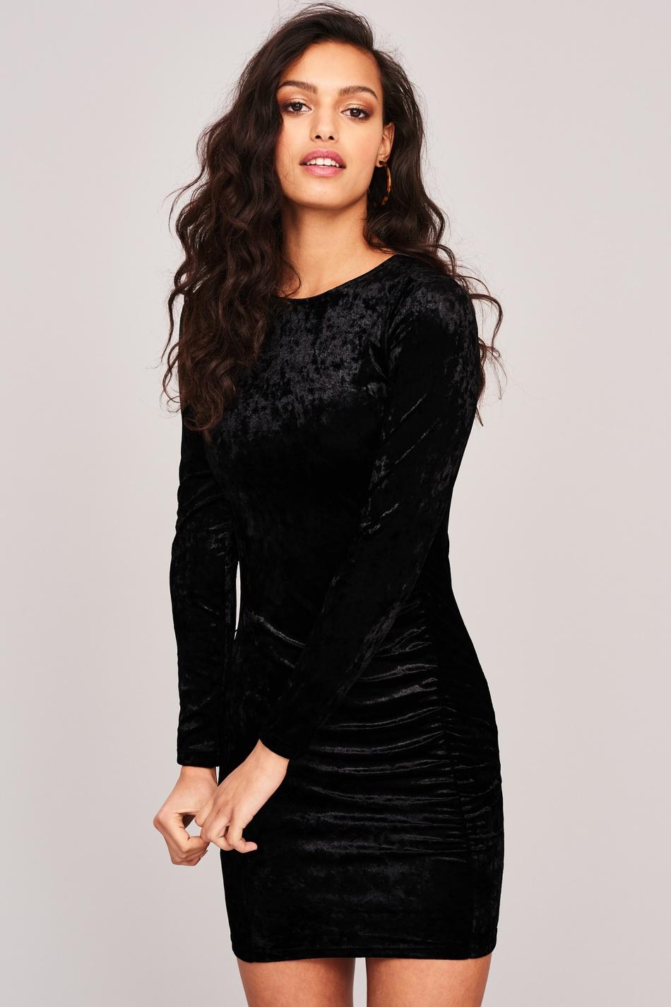 Mirjam klänning i sammet   (GINA TRICOT) - TheTrendi 894023ca03038
