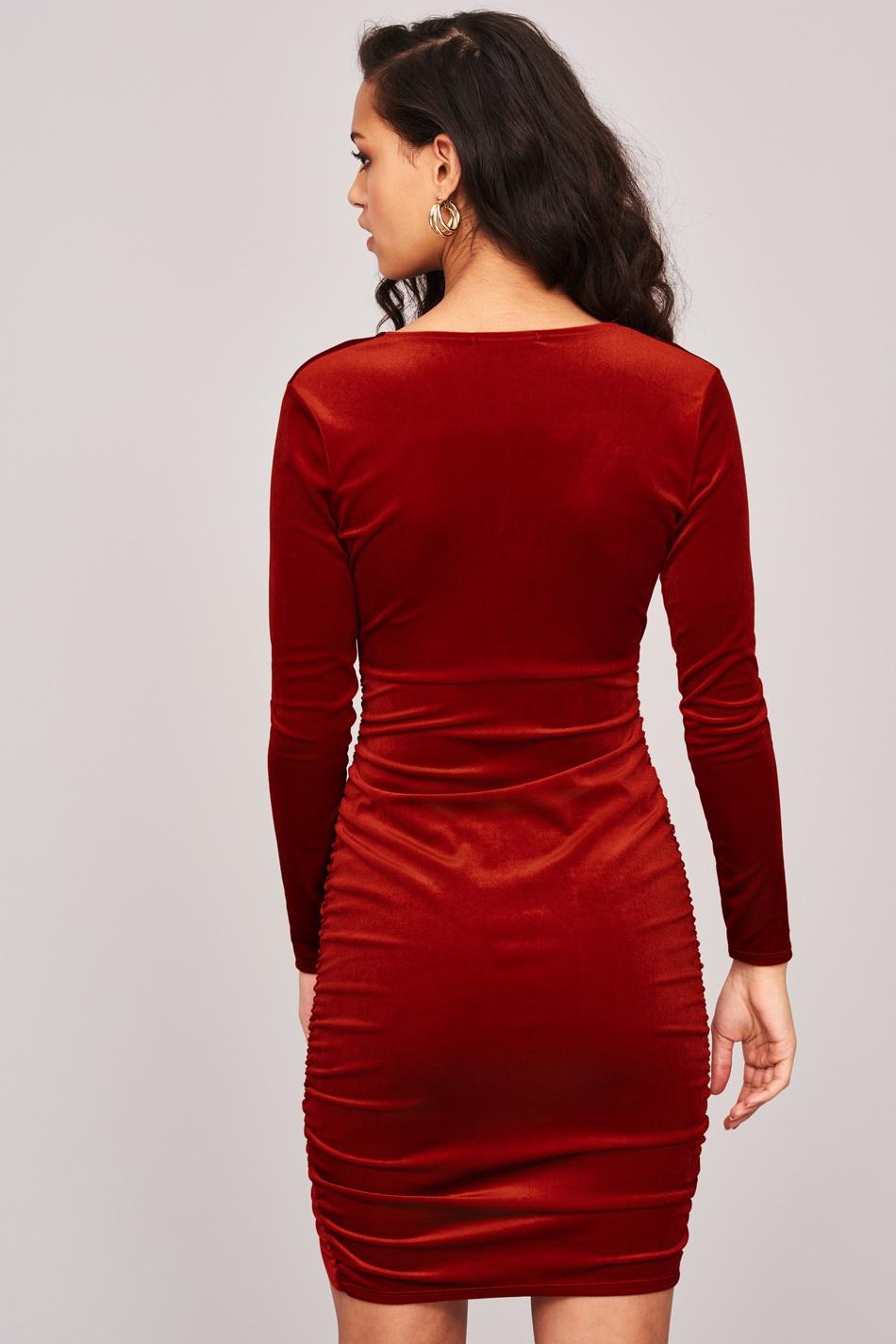 Cassie klänning i sammet, Klänningar Köp trendiga